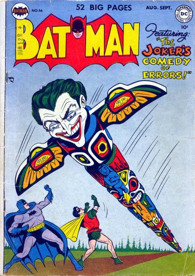 Cover for Batman (DC, 1940 series) #66