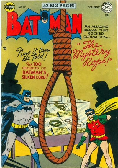 Cover for Batman (DC, 1940 series) #67