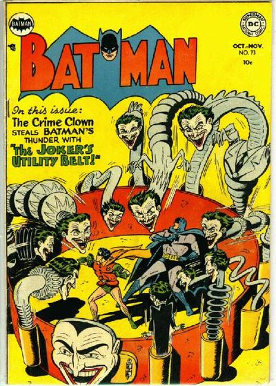 Cover for Batman (DC, 1940 series) #73