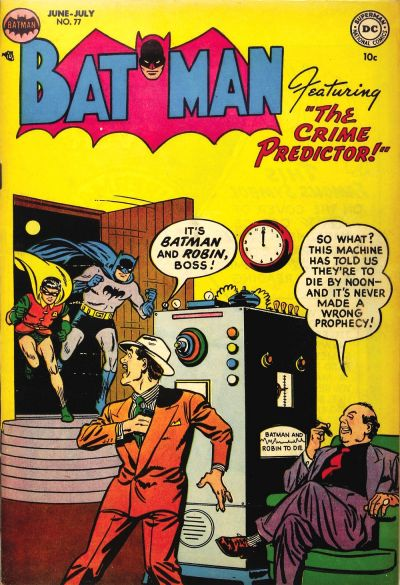 Cover for Batman (1940 series) #77