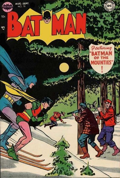 Cover for Batman (1940 series) #78