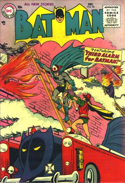 Cover for Batman (1940 series) #96