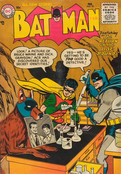 Cover for Batman (1940 series) #97