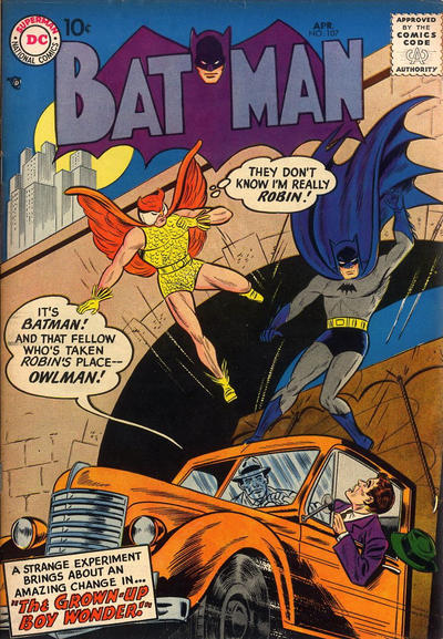 Cover for Batman (DC, 1940 series) #107
