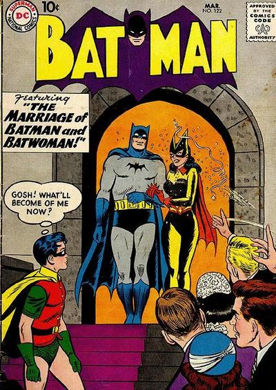 Cover for Batman (1940 series) #122