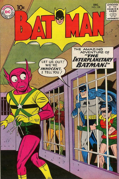 Cover for Batman (DC, 1940 series) #128