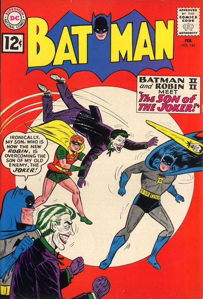 Cover for Batman (DC, 1940 series) #145