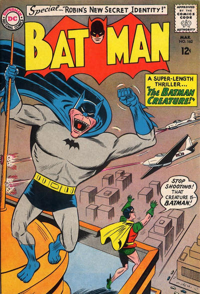 Cover for Batman (DC, 1940 series) #162