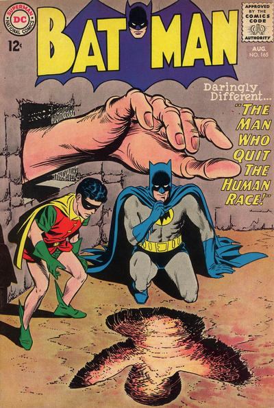 Cover for Batman (DC, 1940 series) #165
