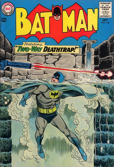 Cover for Batman (DC, 1940 series) #166