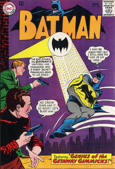 Cover for Batman (1940 series) #170
