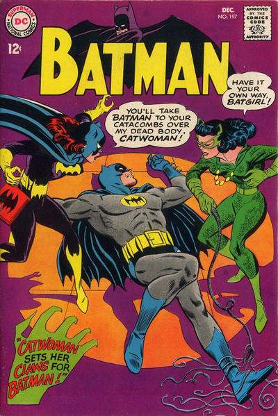 Cover for Batman (DC, 1940 series) #197