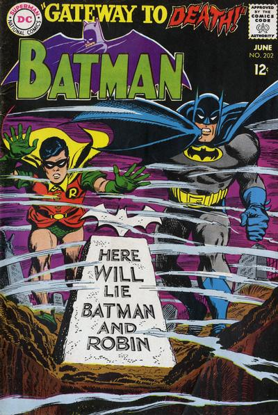 Cover for Batman (DC, 1940 series) #202