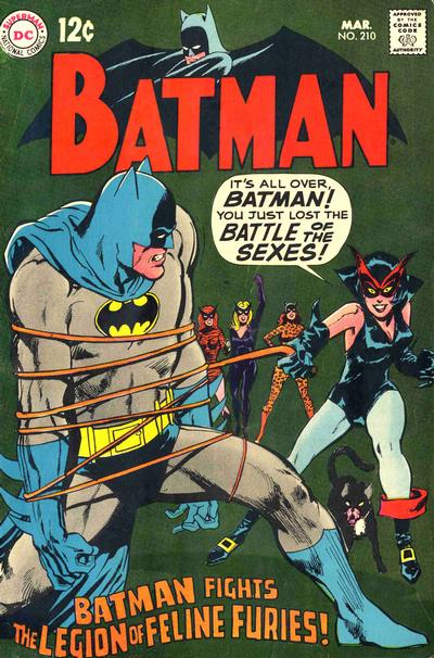 Cover for Batman (DC, 1940 series) #210