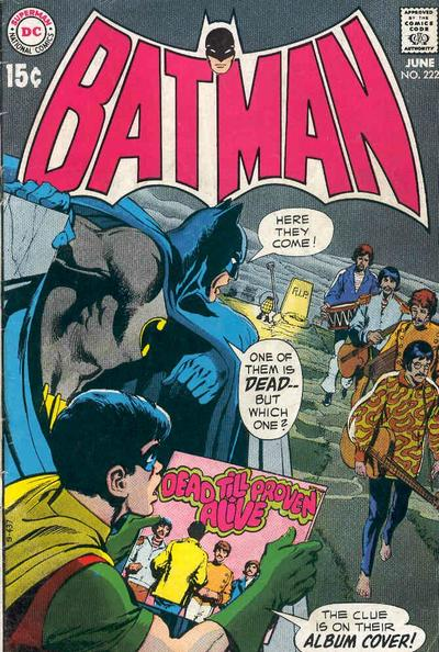 Cover for Batman (DC, 1940 series) #222