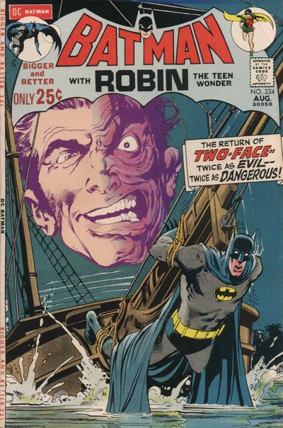 Cover for Batman (DC, 1940 series) #234