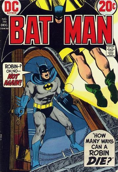 Cover for Batman (DC, 1940 series) #246
