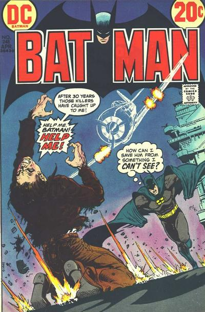 Cover for Batman (1940 series) #248