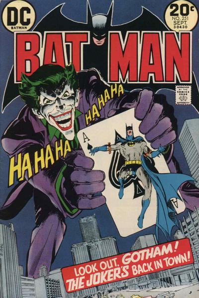 Cover for Batman (1940 series) #251
