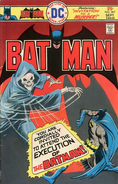 Cover for Batman (DC, 1940 series) #267