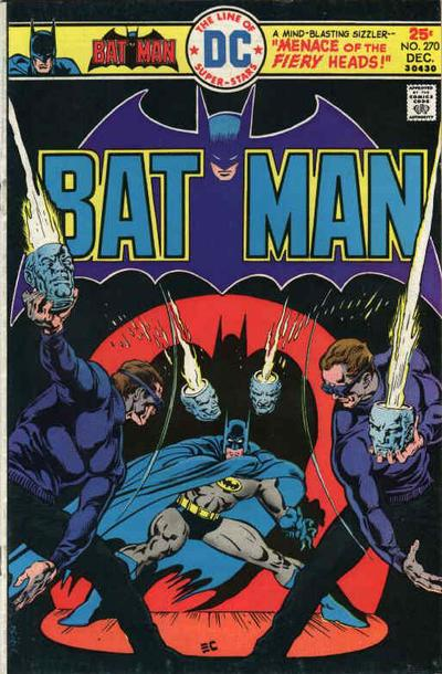 Cover for Batman (1940 series) #270