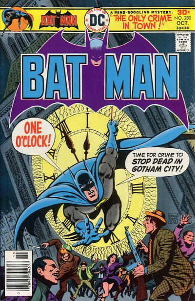 Cover for Batman (1940 series) #280