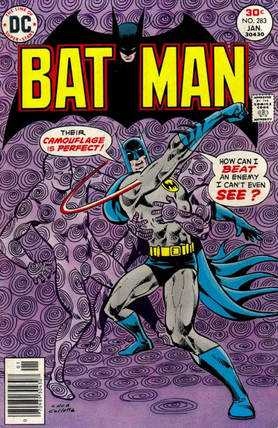Cover for Batman (DC, 1940 series) #283