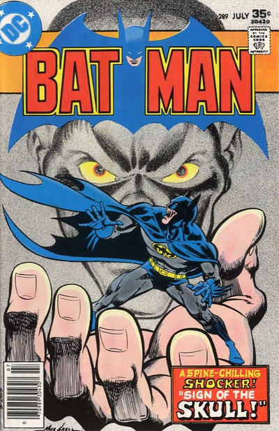 Cover for Batman (1940 series) #289
