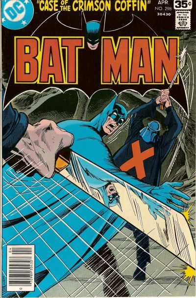 Cover for Batman (DC, 1940 series) #298