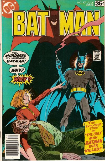 Cover for Batman (1940 series) #301