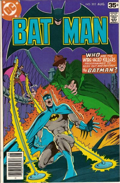 Cover for Batman (DC, 1940 series) #302