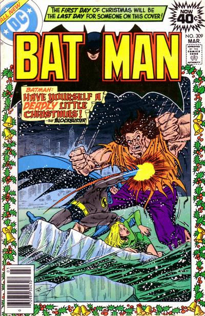 Cover for Batman (DC, 1940 series) #309 [Regular Edition]