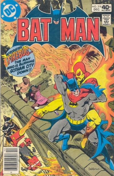 Cover for Batman (DC, 1940 series) #318