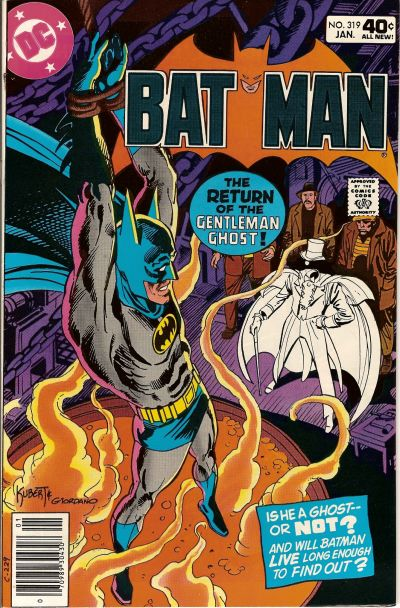 Cover for Batman (DC, 1940 series) #319 [Whitman Variant]