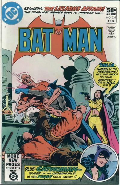 Cover for Batman (DC, 1940 series) #332