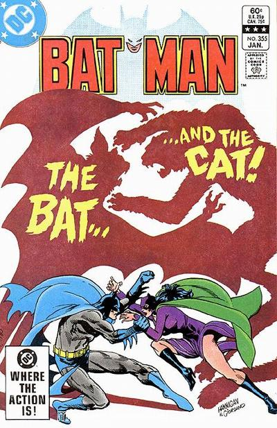 Cover for Batman (DC, 1940 series) #355 [Direct]