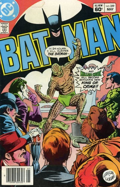 Cover for Batman (1940 series) #359 [Newsstand]