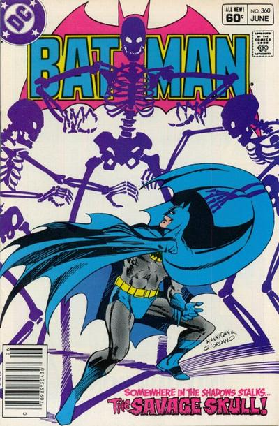 Cover for Batman (DC, 1940 series) #360 [Newsstand]