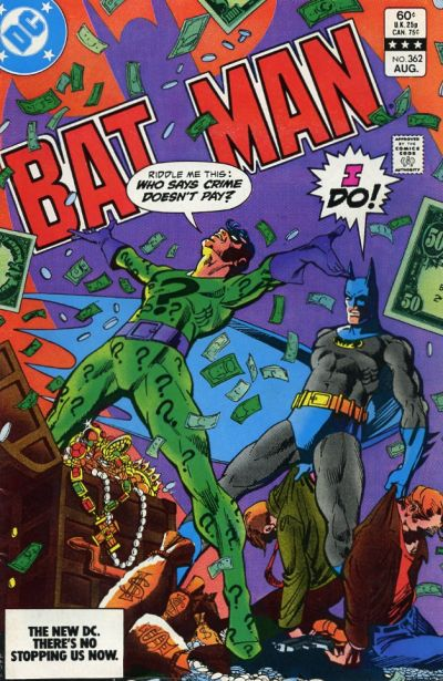 Cover for Batman (DC, 1940 series) #362 [Newsstand]