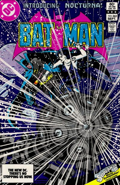 Cover for Batman (DC, 1940 series) #363 [Direct-Sales]