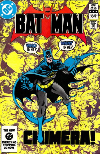 Cover for Batman (DC, 1940 series) #364 [Newsstand]