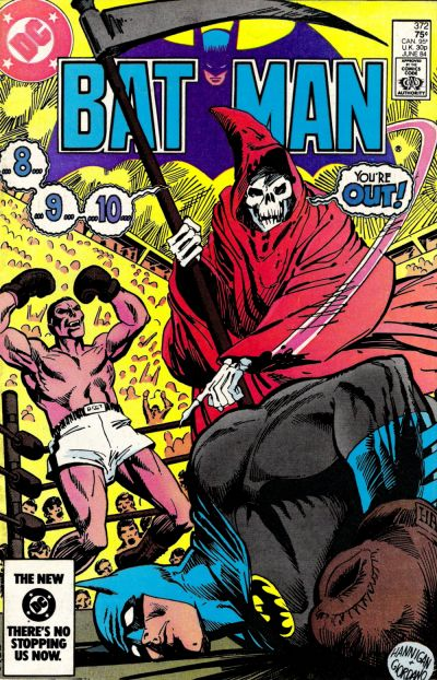 Cover for Batman (DC, 1940 series) #372 [Newsstand]