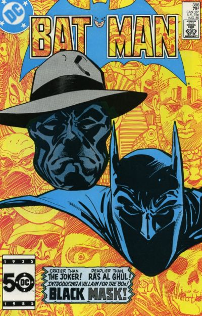 Cover for Batman (1940 series) #386 [Direct]