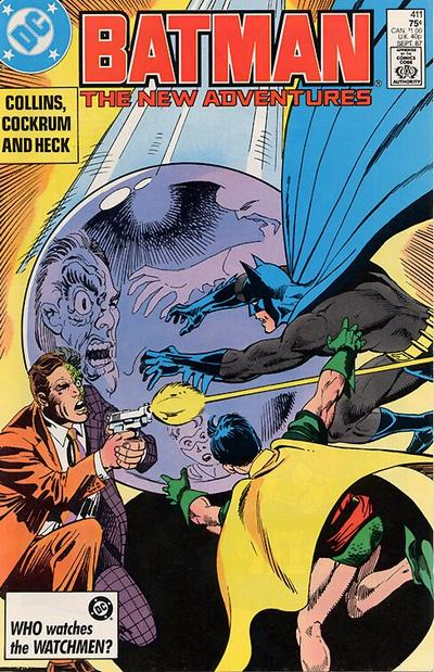 Cover for Batman (DC, 1940 series) #411