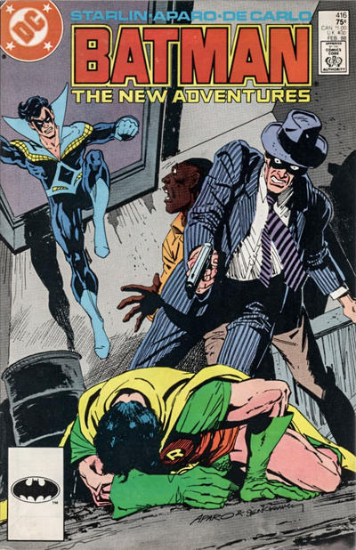 Cover for Batman (1940 series) #416