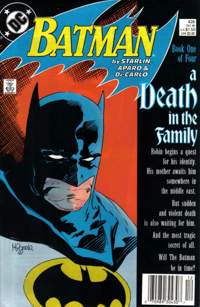 Cover for Batman (DC, 1940 series) #426 [Direct]