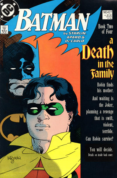 Cover for Batman (DC, 1940 series) #427 [Newsstand]