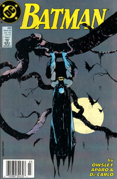 Cover for Batman (DC, 1940 series) #431 [Newsstand Variant]