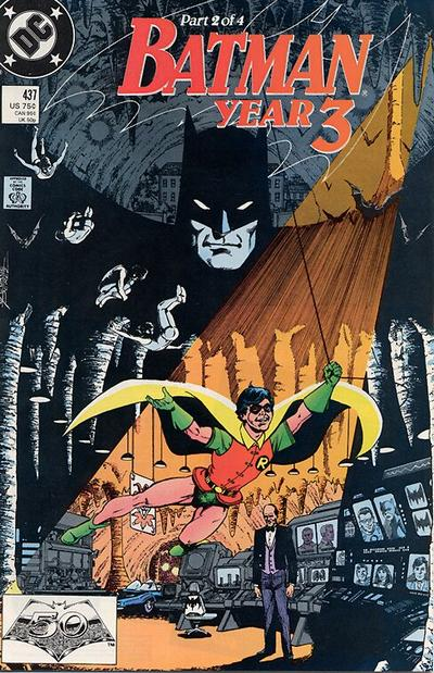Cover for Batman (DC, 1940 series) #437