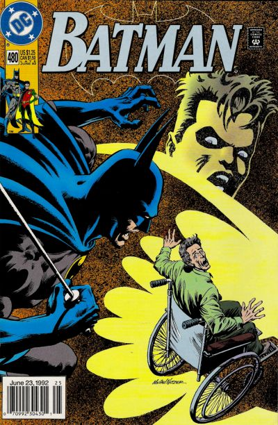Cover for Batman (1940 series) #480 [Direct]